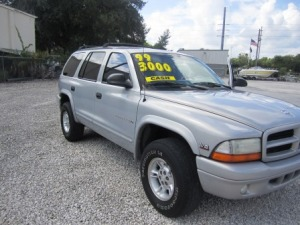 1999 Dodge Durango 199K miles nice SUV with 3rd row seating